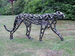 Horse Art Horseshoe Art Spruce Meadow Farm Blog