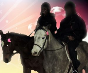 date horse riding lesson